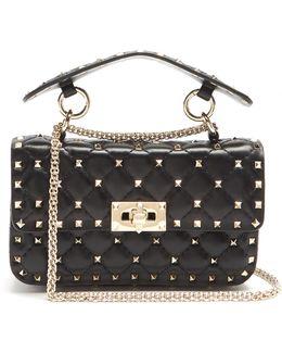 Rockstud Spike Small Quilted-leather Shoulder Bag