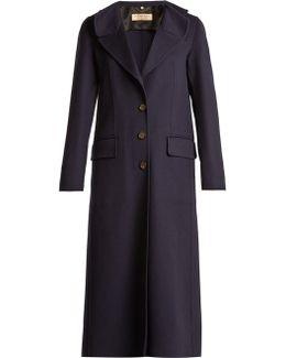 Alberthorpe Ruffled Wool And Cashmere-blend Coat