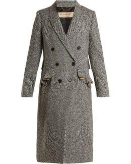 Trentwood Herringbone-wool Coat