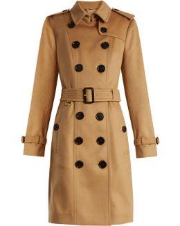 Sandringham Long Cashmere Trench Coat