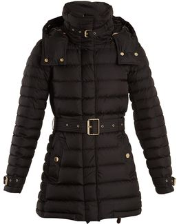 Harrowden Belted Quilted Down Coat