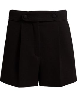 High-waist Tailored Shorts
