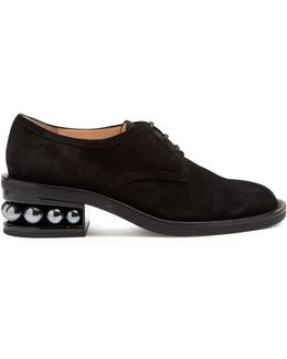Casati Pearl-heeled Derby Shoes
