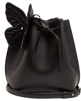 Remi Leather Bucket Bag