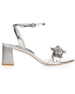 Lilico Patent-leather Block-heel Sandals