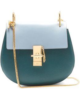 Drew Bi-colour Mini Leather Cross-body Bag