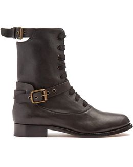 Otto Leather Ankle Boots