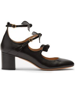 Mike Leather Pumps