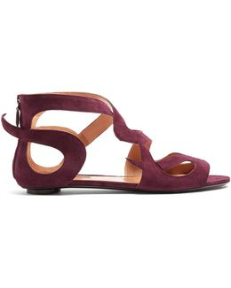 Kelly Suede Sandals