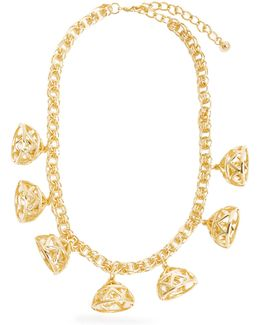 Frankie Gold-plated Necklace