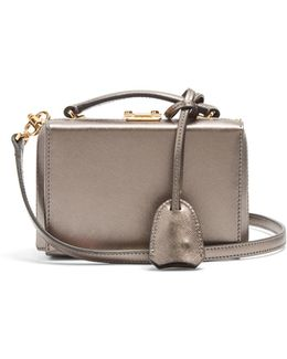 Grace Mini Saffiano-leather Box Bag
