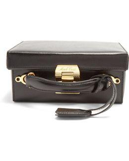 Grace Small Saffiano-leather Box Bag