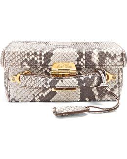 Grace Small Python Box Bag