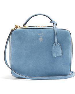 Laura Suede Shoulder Bag