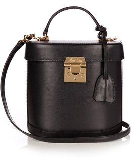 Benchley Saffiano-leather Shoulder Bag