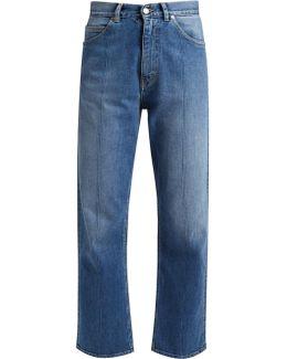 Komo Straight-leg Cropped Jeans