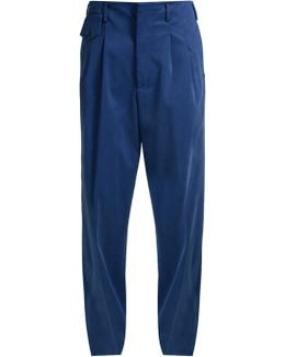 Sally Low-slung Wide-leg Trousers