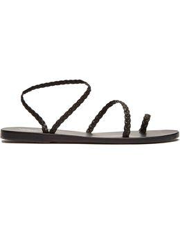 Eleftheria Leather Sandals