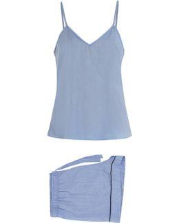 Amalfi Cotton-batiste Pyjama Set