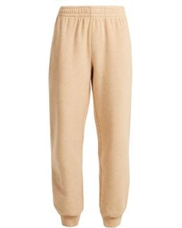 Relaxed-leg Cotton-blend Track Pants