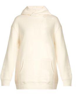 Oversized Japanese-jersey Hooded Sweatshirt