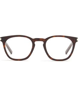 D-frame Acetate Glasses