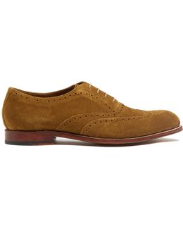 Luther Suede Oxford Shoes