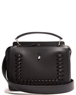 Dotcom Whipstitch Leather Bag