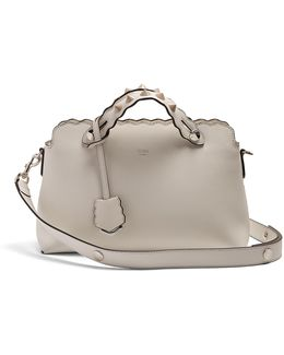 By The Way Small Scallop-edged Leather Bag