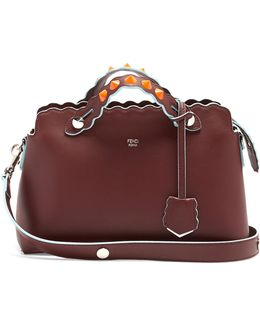By The Way Embellished Leather Cross-body Bag
