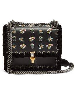 Kan I Small Leather Cross-body Bag