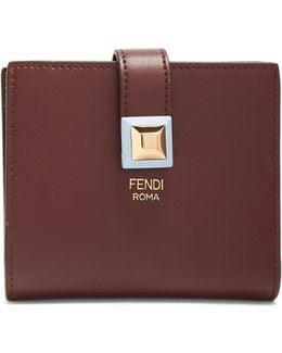 Kan I Bi-fold Leather Wallet