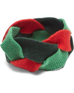 Braided Wool-blend Headband