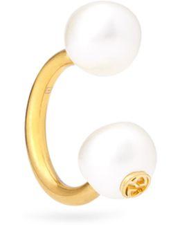 Pearl-effect Earring