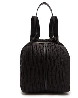Backpack 11 Quilted-nylon Backback