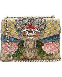 Dionysus Gg Supreme Embellished Large Shoulder Bag