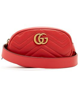 Gg Marmont 2.0 Leather Belt Pack