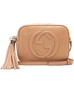 Soho Grained-leather Cross-body Bag