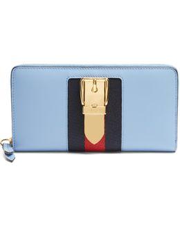 Sylvie Zip-around Leather Wallet