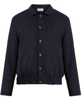 Notch-lapel Wool Jacket