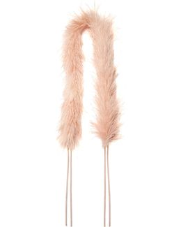 Marabou-feather Bag Strap