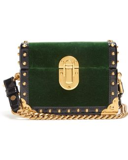 Treasure Trunk Mini Velvet Box Bag
