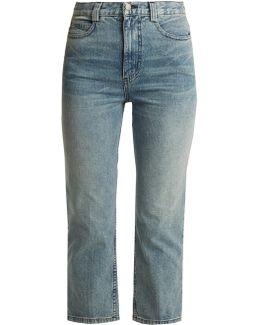 Norm Slim-leg Cropped Jeans