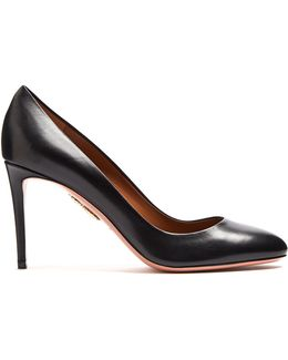 Essentials 85mm Leather Pumps