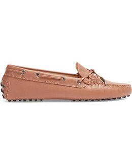 Gommini Saffiano-leather Loafers