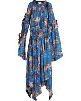 X Paula's Ibiza Floral-print Maxi Dress
