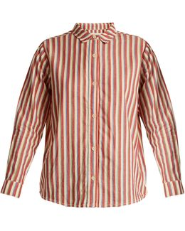 The Campus Striped Cotton Shirt