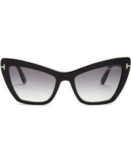 Valesca Cat-eye Sunglasses