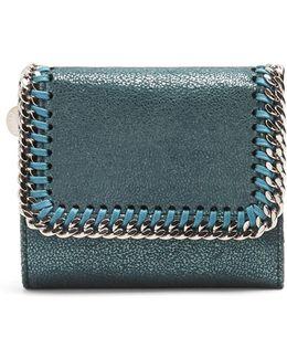 Falabella Faux-suede Wallet
