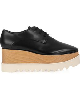 Elyse Lace-up Platform Shoes